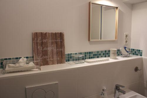 Waschbecken, Ablagefläche & Co