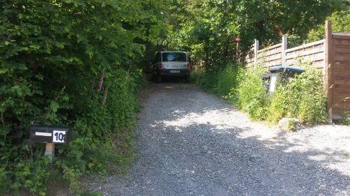 Einfahrt, bitte parken!
