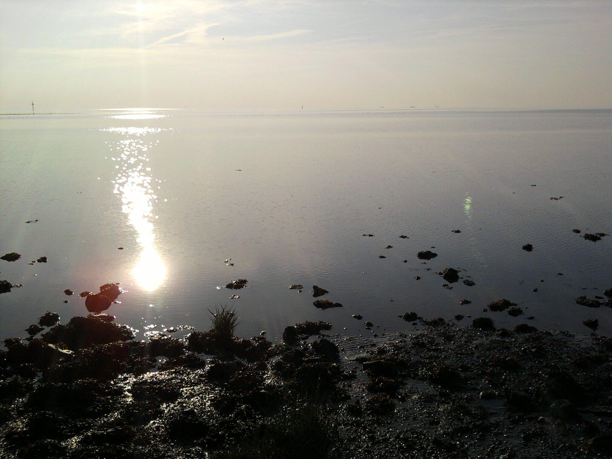 """Abendstimmung an der """"S�dlichen Nordsee"""""""