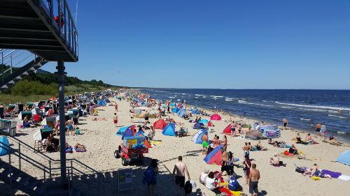 Am Strand von Zinnowitz