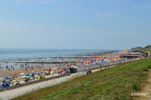 Schönsten Süd Strand der Niederlande