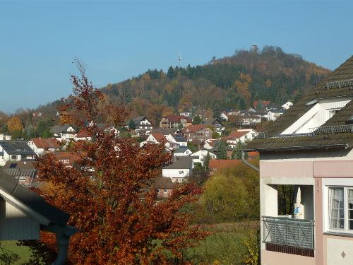 Blick auf den Hessenturm Niedenstein