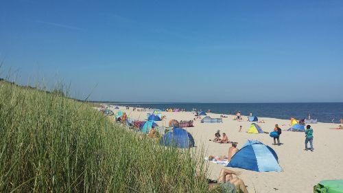 Am Ostseestrand von Zinnowitz
