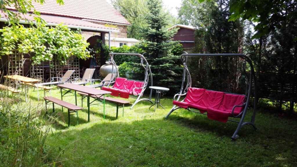 Ferienhof Sarodnick, Schlafen im Heu - Heubett