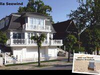 VILLA SEEWIND in Binz * 300 m zum Strand, Villa Seewind - 300m zum Strand; Strandkorb in Binz (Ostseebad) - kleines Detailbild