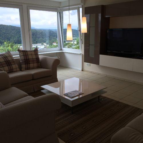 modernes Wohnzimmer mit viel Licht