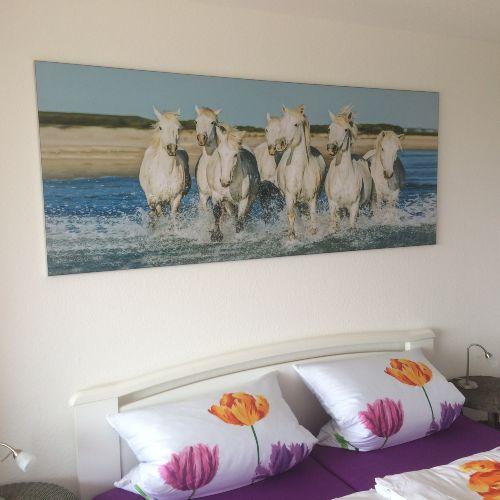 Schlafzimmer mit Urlaubsfeeling