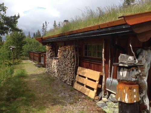 Zugang zur Hütte