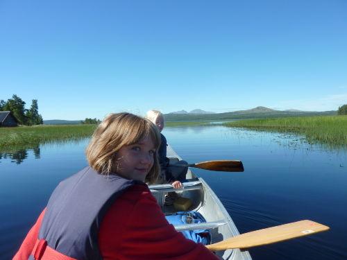Kanutour auf dem Femundsee