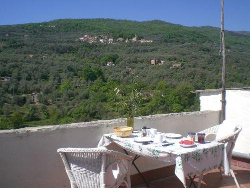 Terrasse mit Blick nach Westen