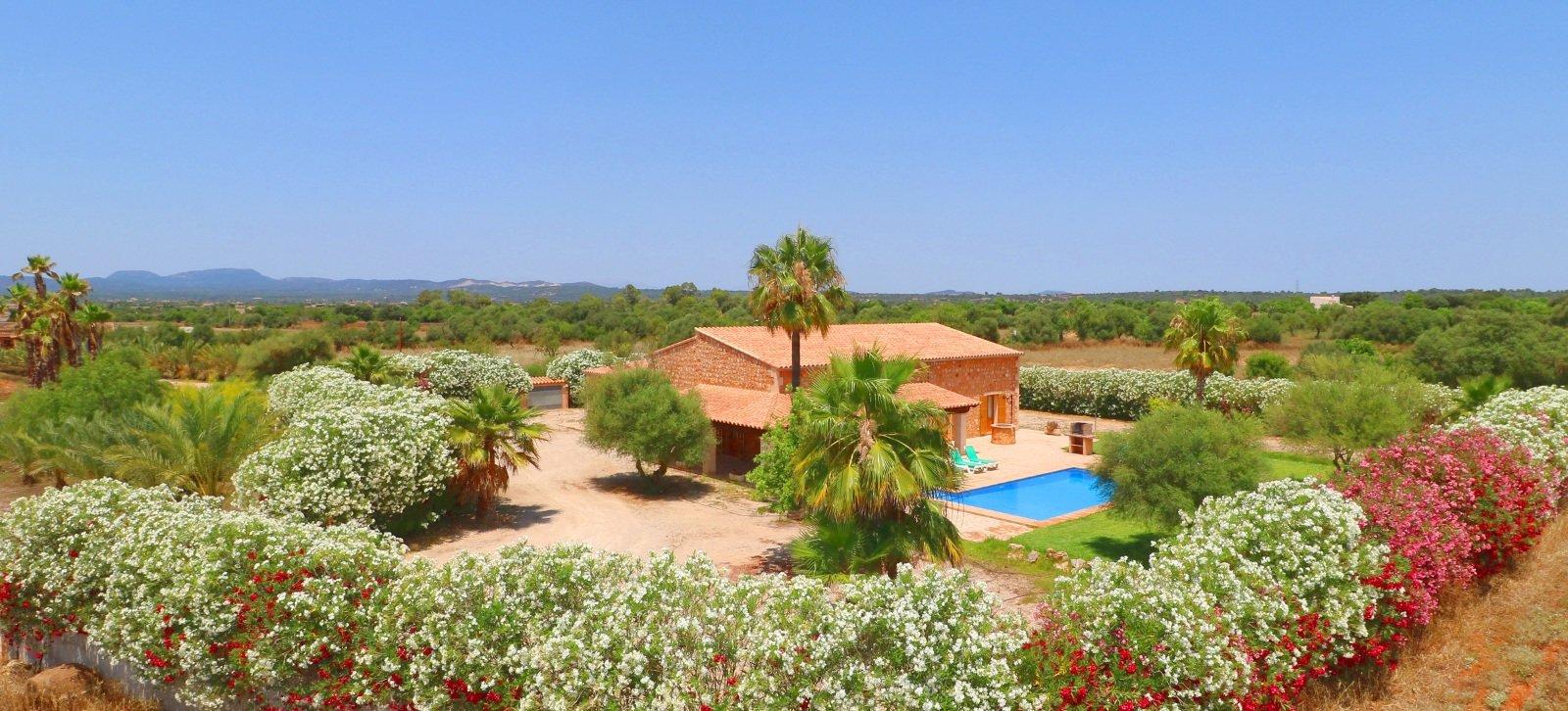 Finca Sa Vinya | Pool und Garten