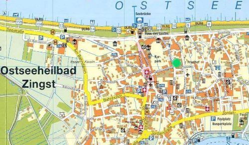 Karte Zingst