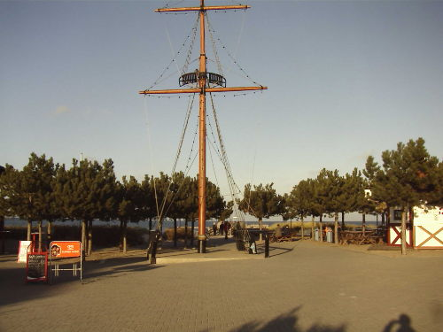 Mast am Kurhaus