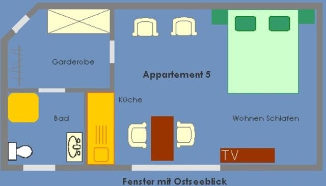 Ferienappartements im Fischerhus mit Meerblick, 05