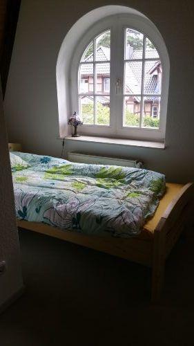 Bett im Erker