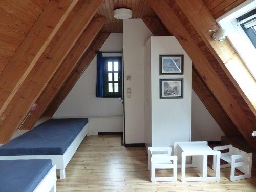 Schlafraum 1 mit Einzelbetten