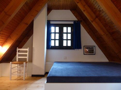 Schlafraum 2 mit Doppelbett