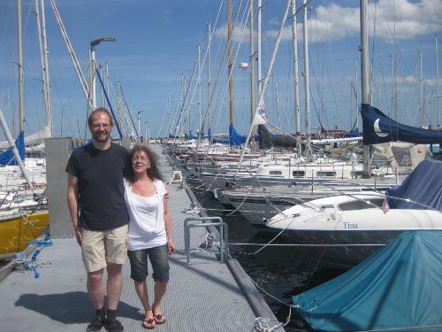 Das sind wir - Marion und Dominik :-)