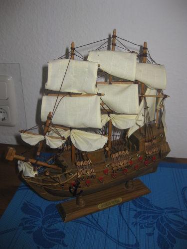 Ein Segelschiff zum Anfassen...