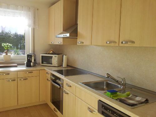 Küche vollständig eingerichtet
