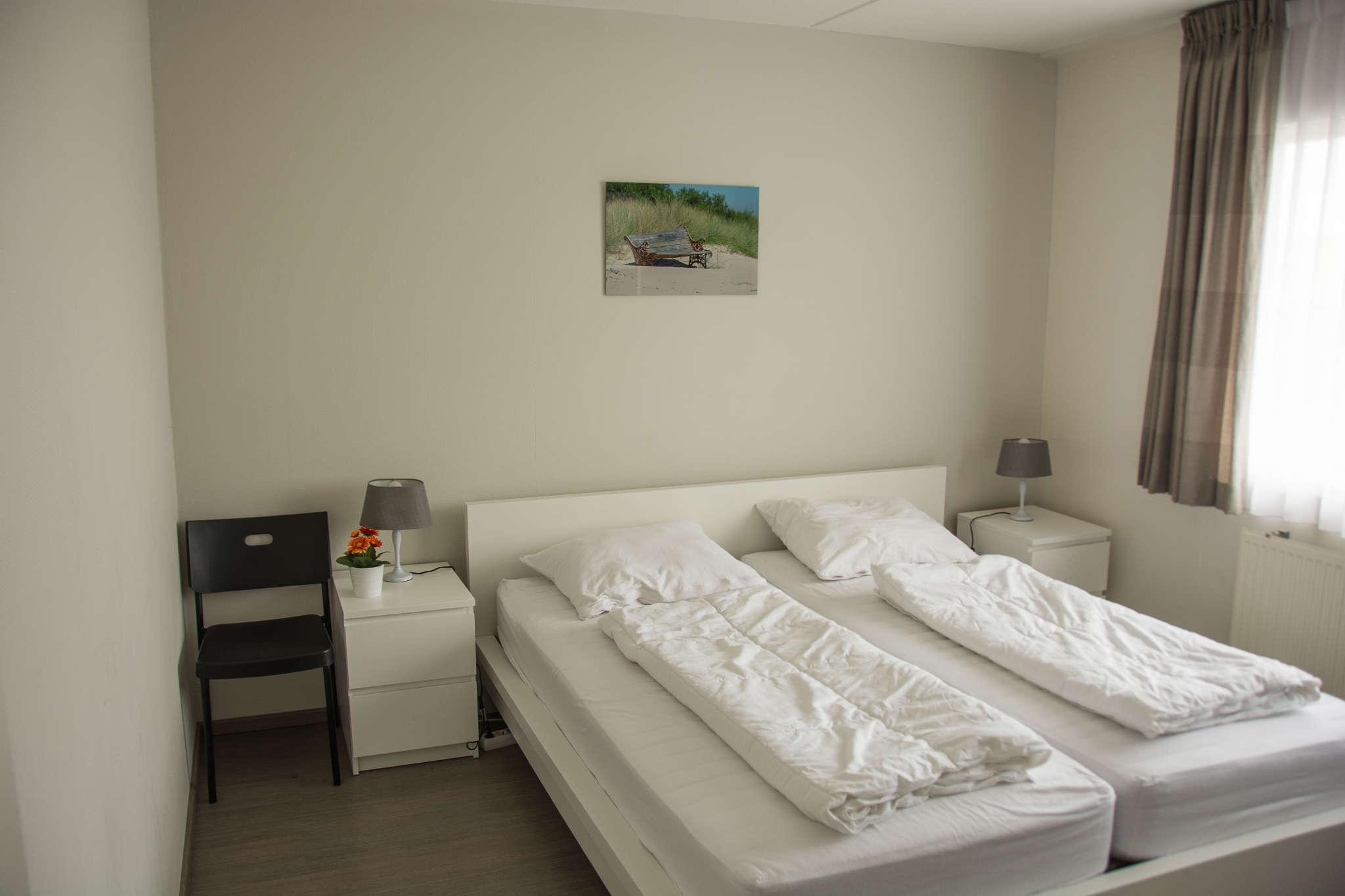 Master-Schlafzimmer mit Doppelbett