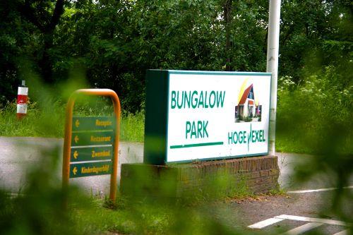 Park Eingang