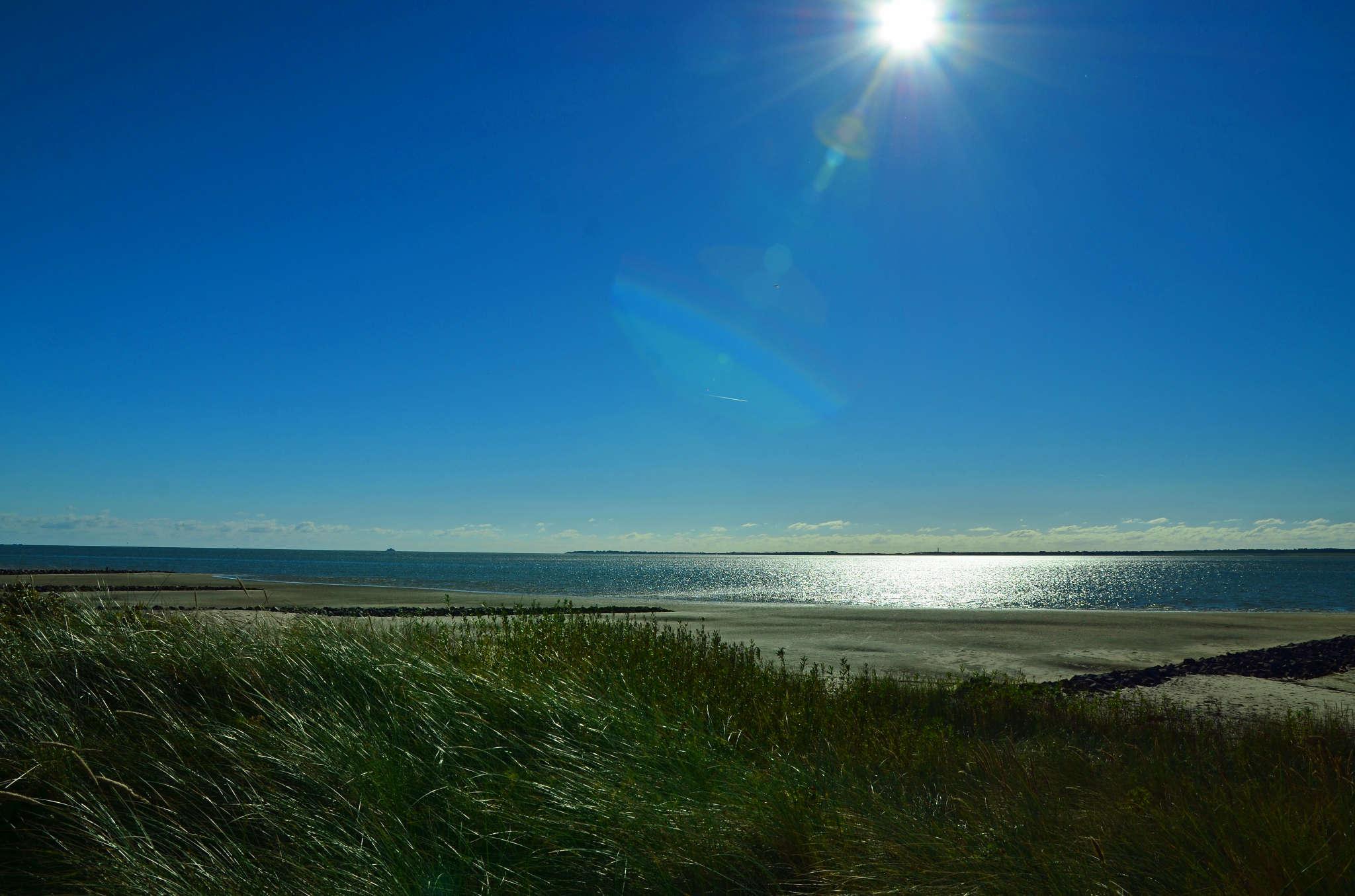 Ruhe und Sonne am Südstrand