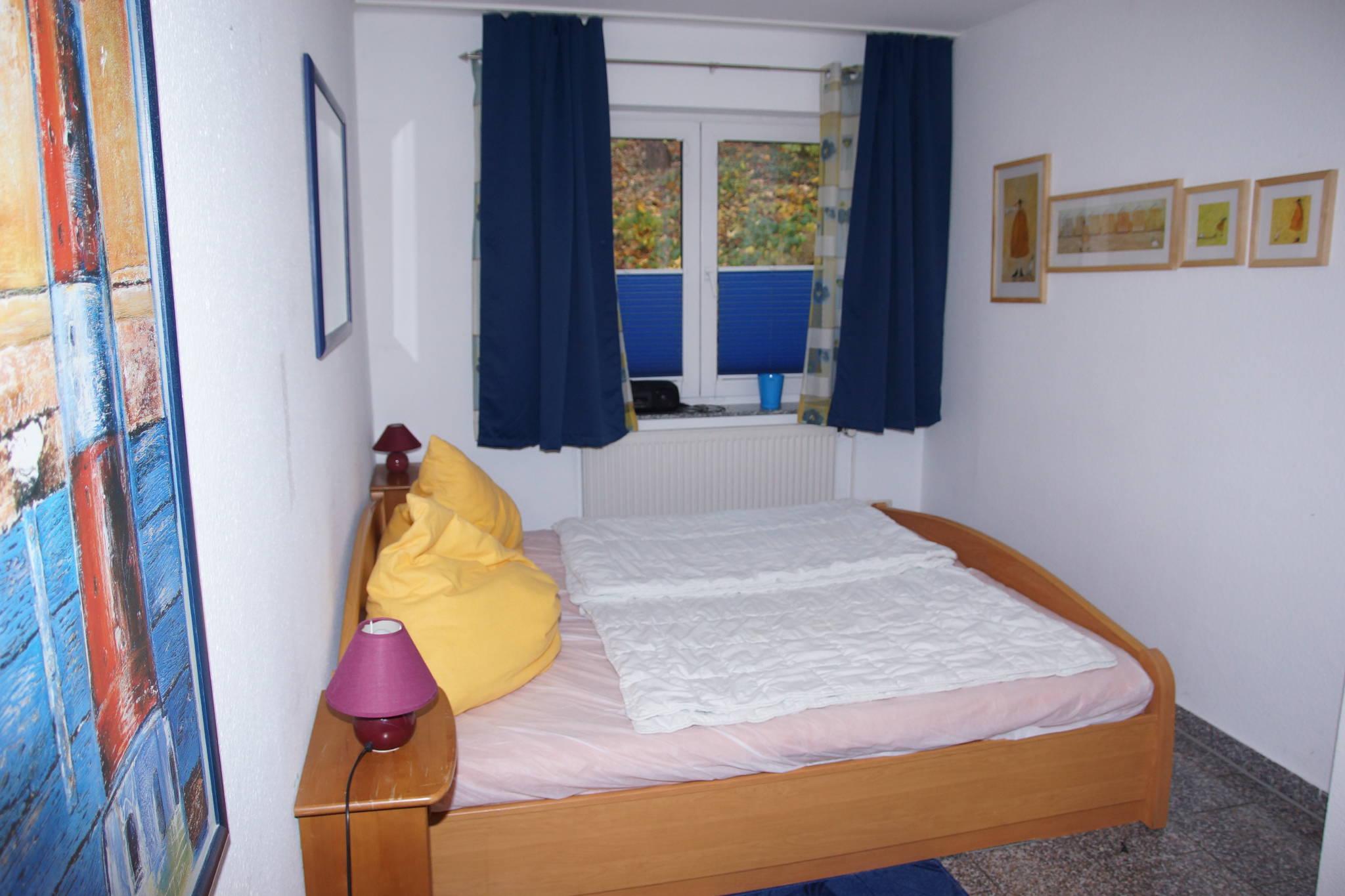 Binz Ferienwohnung Haus H�gel Schlafz.