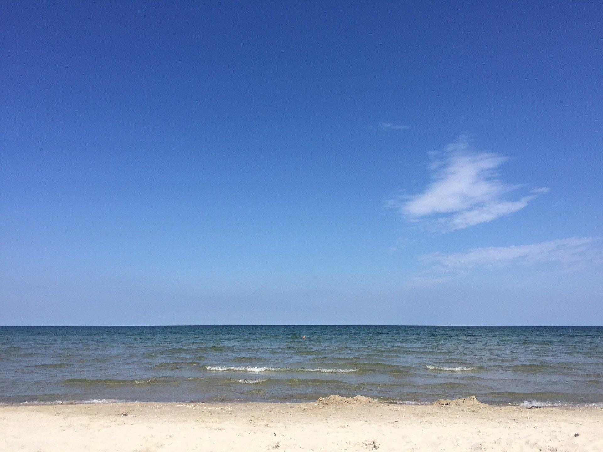 Ostsee Ferienwohnung H�gel Schlafzimmer