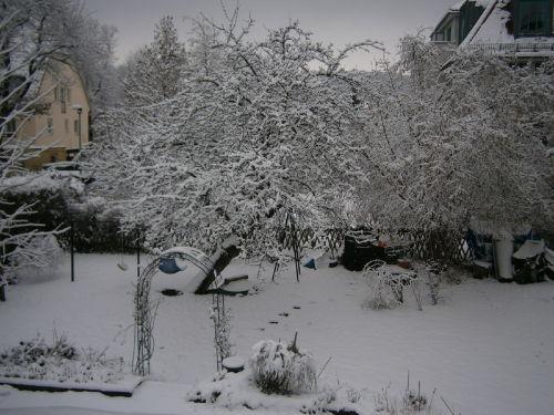Manchmal haben wir auch Schnee...