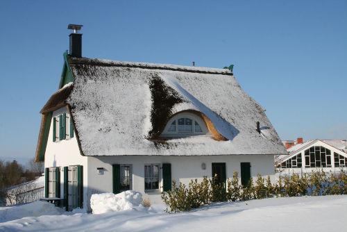 Haus Albatros im Winter