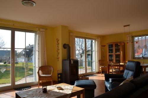 Wohnbereich zur Terrasse