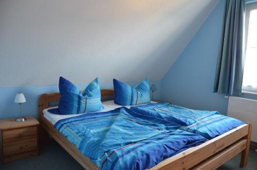 Schlafzimmer blau