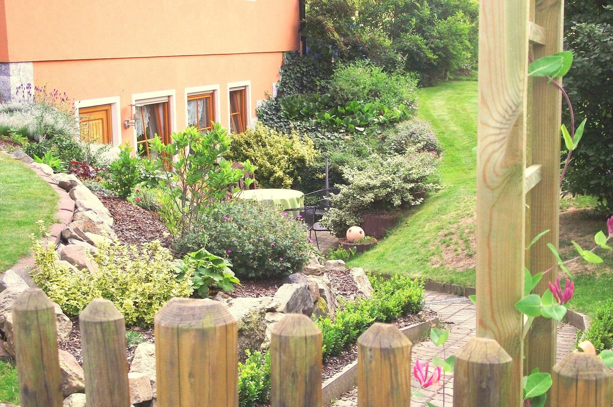 Gartentor zum Ferienwohungsgarten