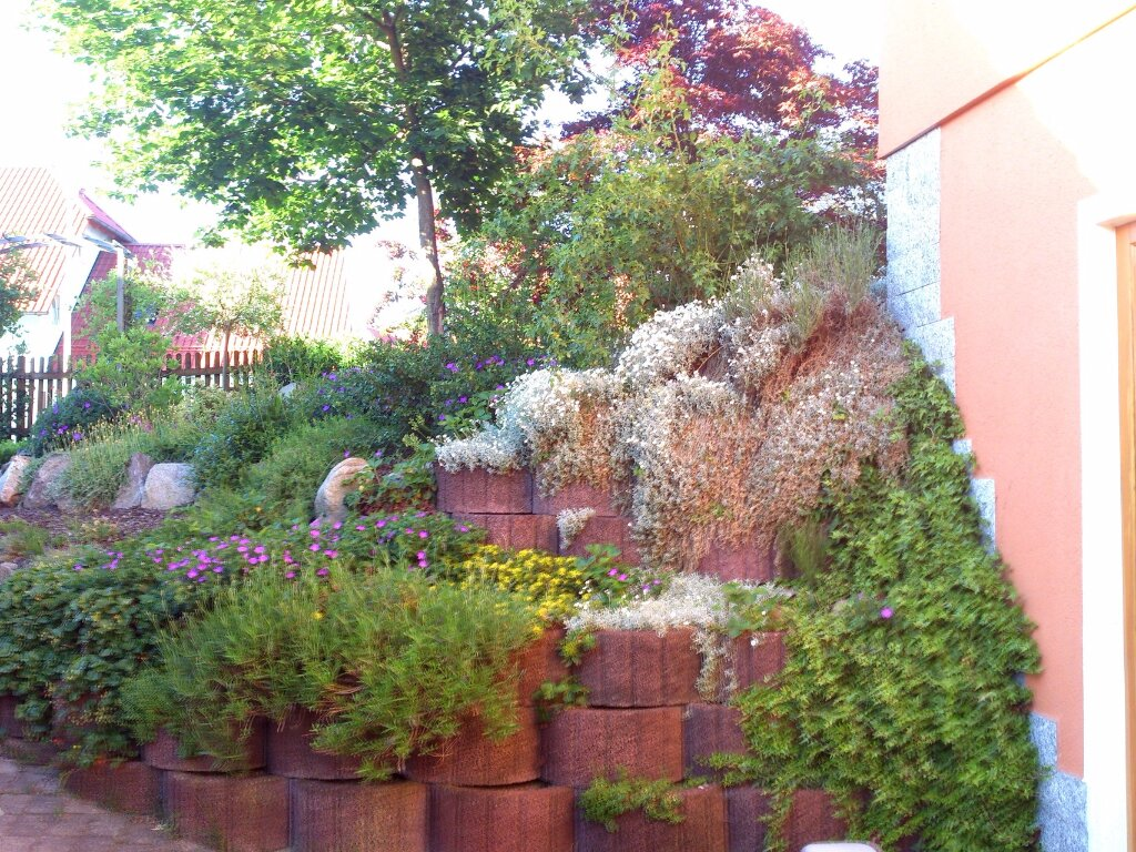 Hangbeet an Terrasse
