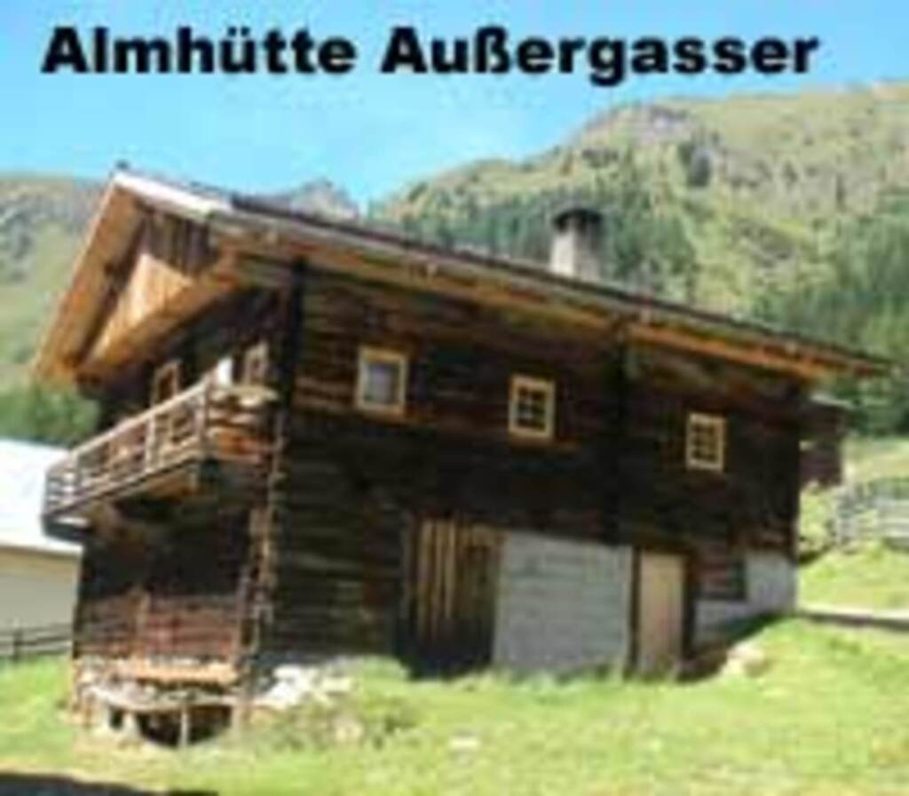 Almh�tte Au�ergasser, Almh�tte Au�ergasser 1