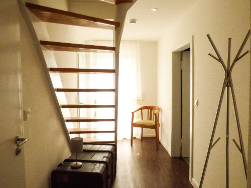 Aufgang zur 2. Etage