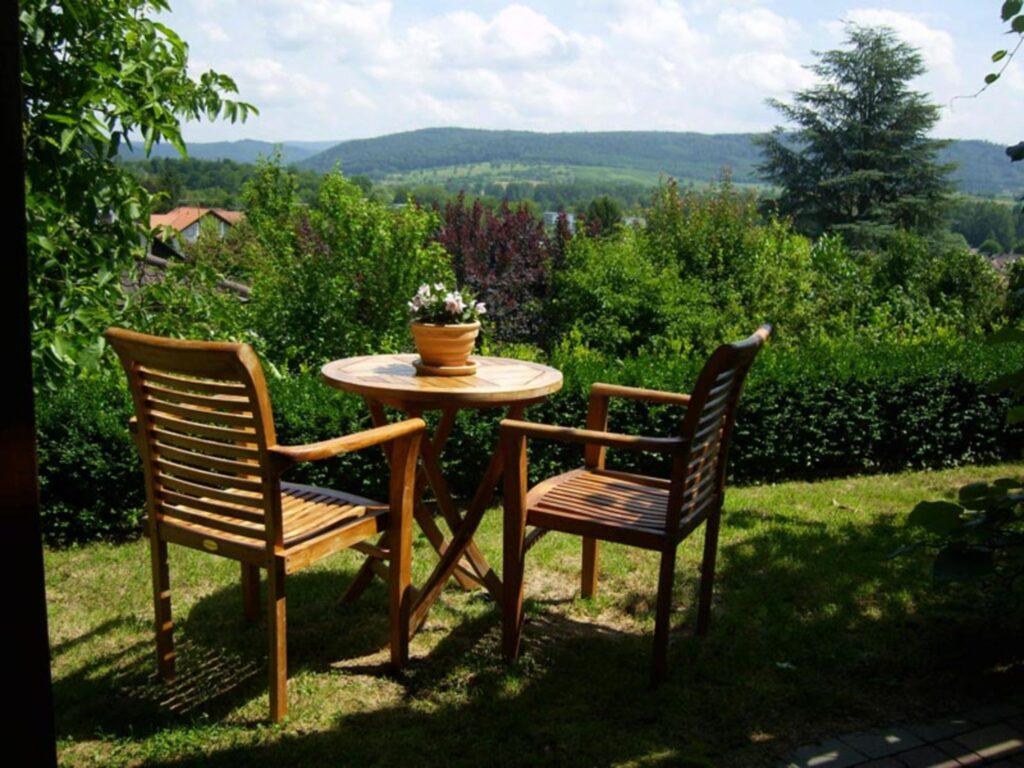 Haus Schwarzwaldblick, Ferienwohnung mit Gartensit