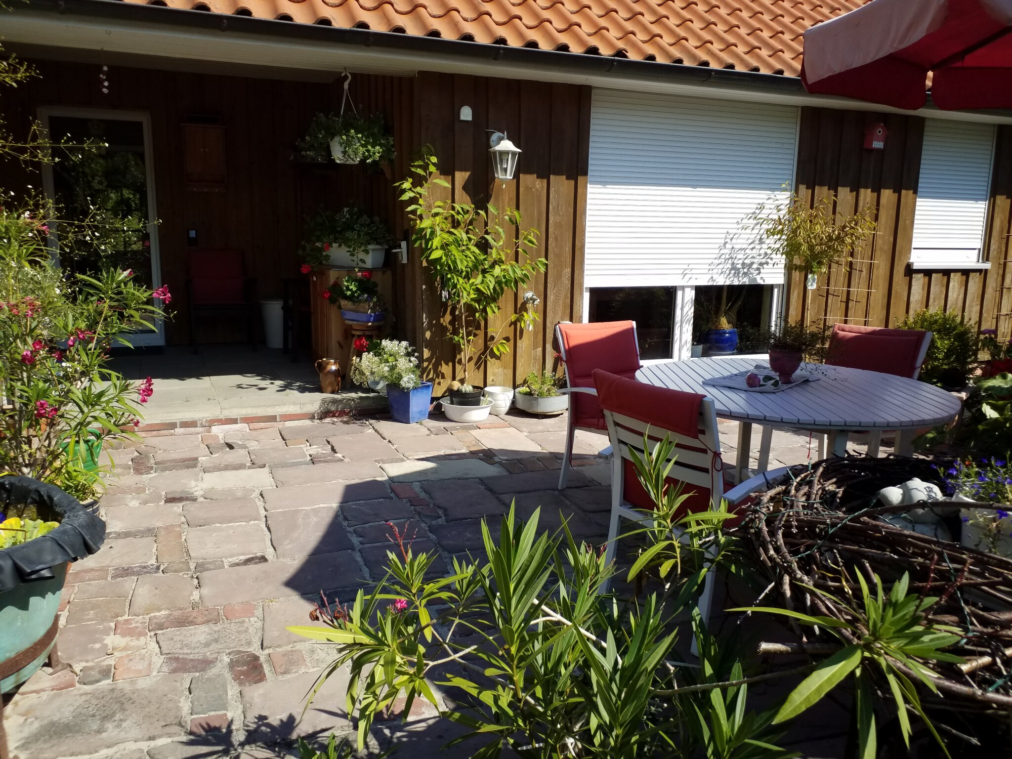 Strand bei Flut _ Eckwarderh�rne 0816