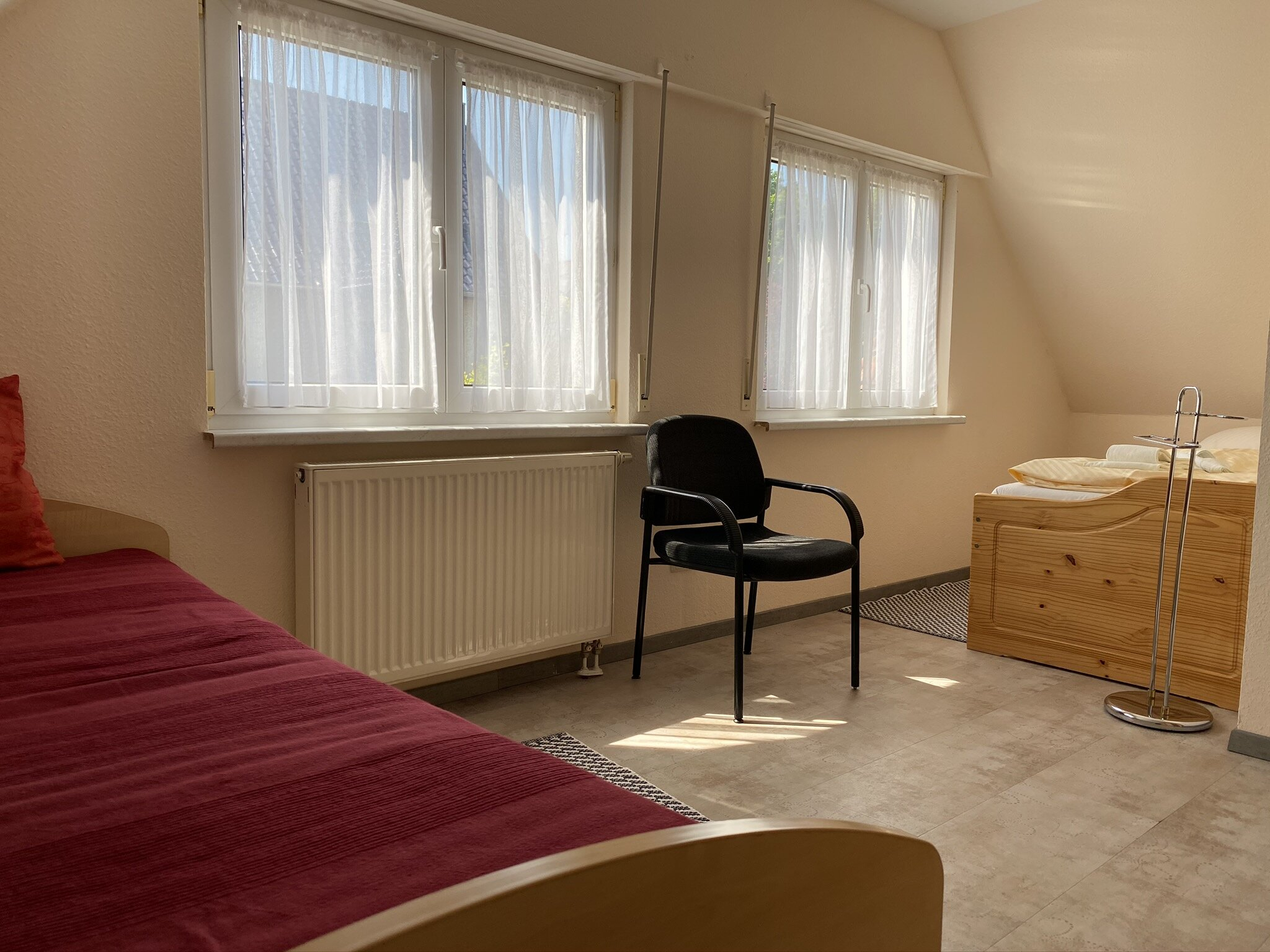 Schlafzimmer 1 im 1. OG