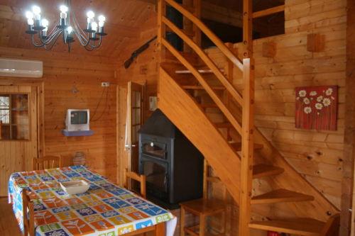 Treppenaufgang zu Schlafraum 2