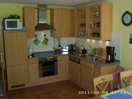 Küche mit Eßecke im Erdgeschoß
