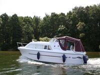 Hausboot-Charter (Demarczyk), Bootstyp 'Graugans' in Himmelpfort OT Pian - kleines Detailbild