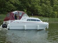 Hausboot-Charter (Demarczyk), Bootstyp 'Wildgans' in Himmelpfort OT Pian - kleines Detailbild