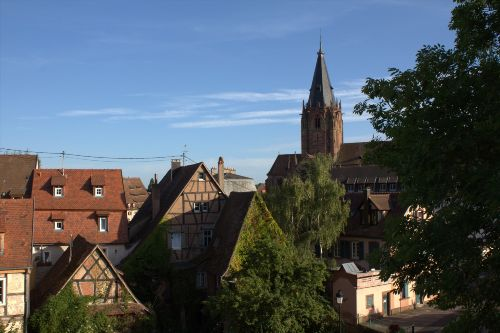Die historische Altstadt als Umgebung