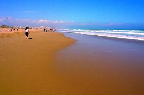 ...oder Strand soweit das Auge reicht