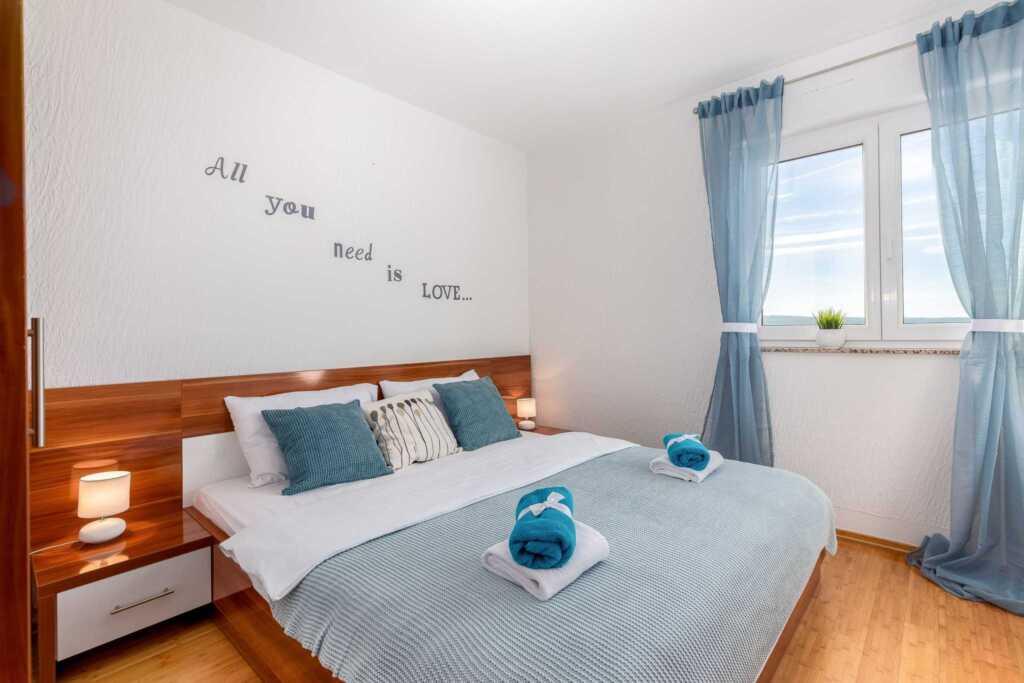 Vila Marija, Appartment mit 2 Schlafzimmer-Erdgesc