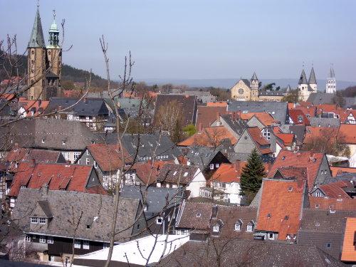 Blcik vom dAch auf Altstadt/Marktkirche