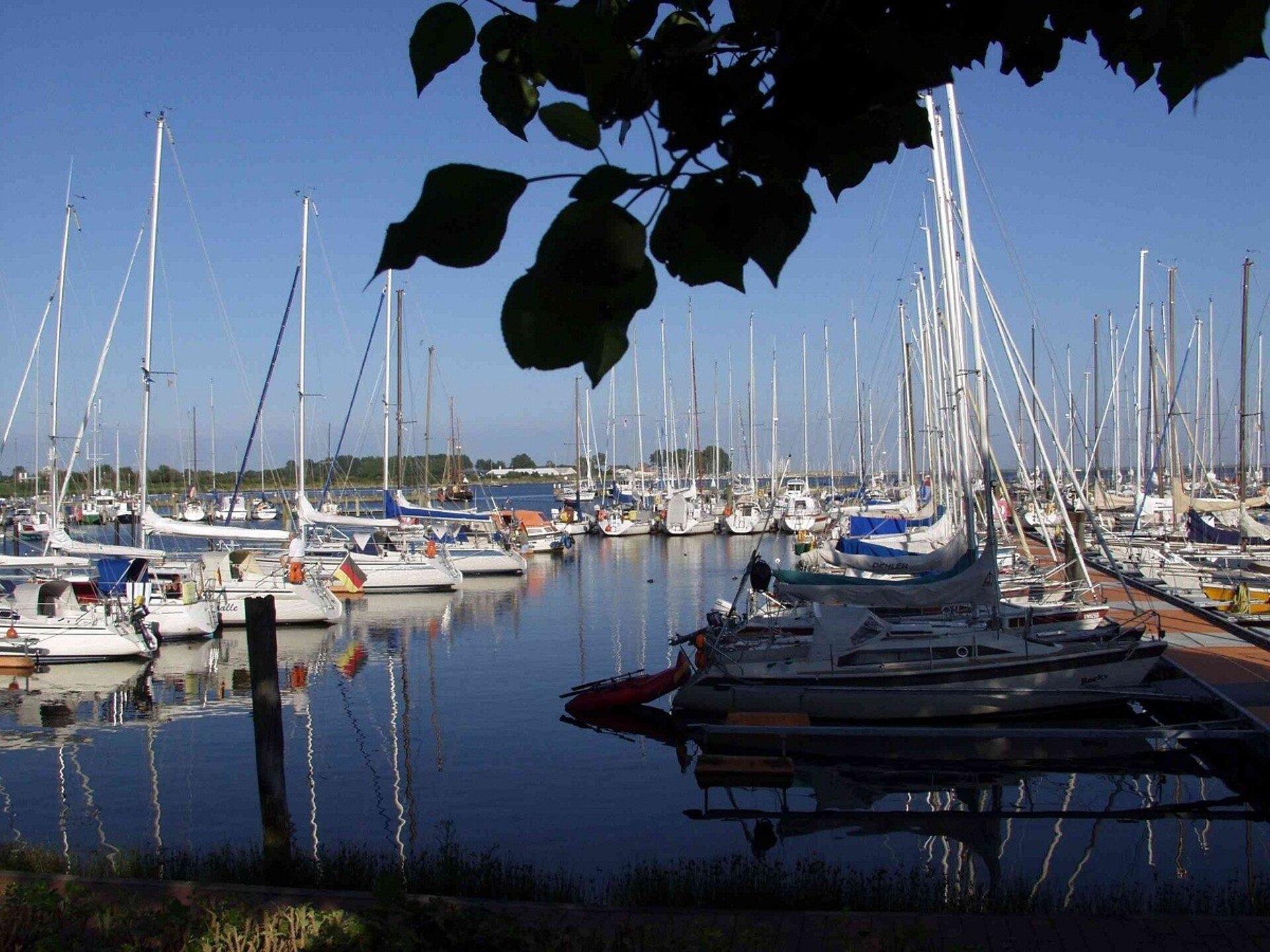 Der Yachthafen in Gro�enbrode