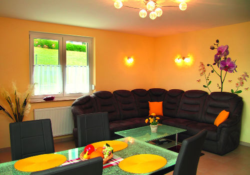 Parterre-Wohnung 65 m², 4 Pers.